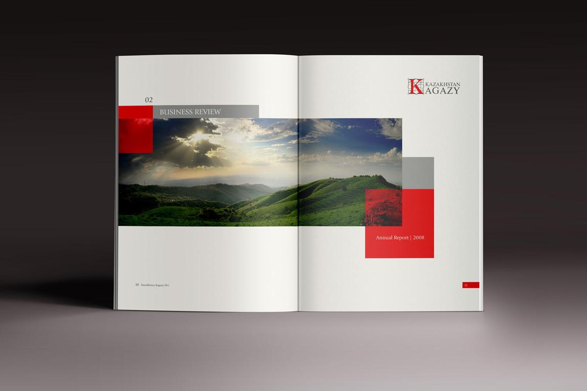 Kagazy Kazakhstan - Годовой отчет 2008