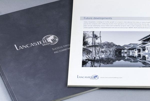 Lancaster - Корпоративная брошюра