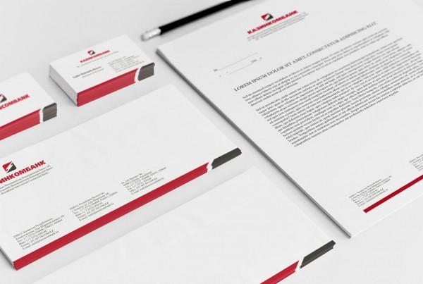 Казинкомбанк-логотип, айдентика, брендбук
